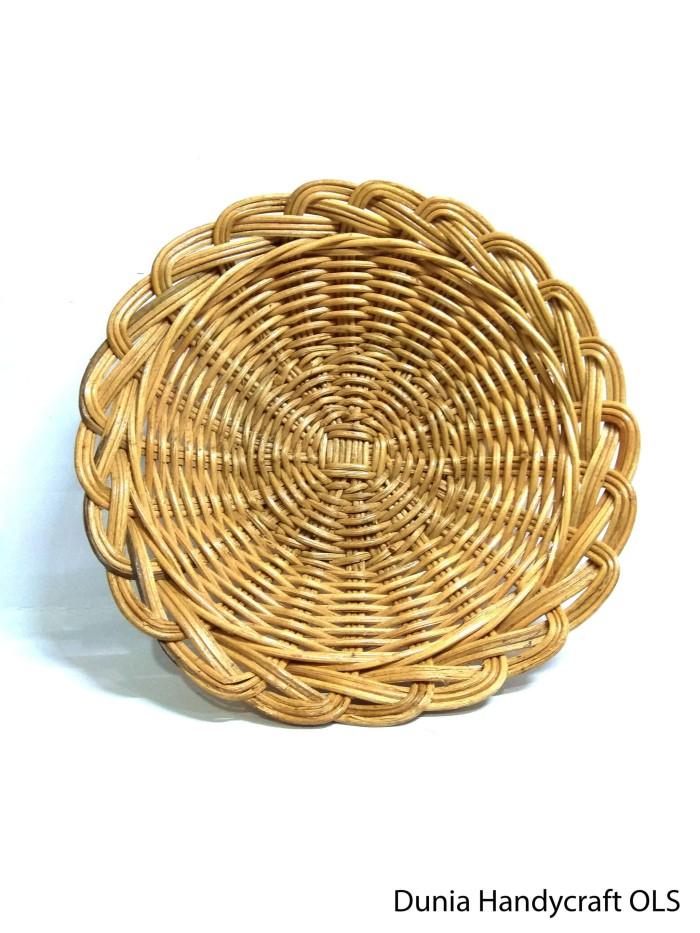 harga Piring hias rotan - piring handcraft - bahan kerajinan tangan Tokopedia.com
