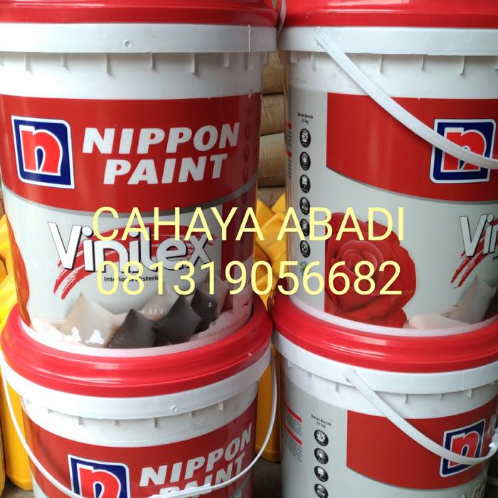 harga Cat tembok vinilex kembang putih 300 25kg (gojek) promo Tokopedia.com