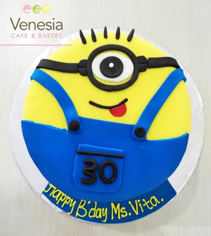 Jual Minion Cake Kue Ulang Tahun Karakter Birthday Cake D16 Full Icing Kab Tangerang Venesia Cake Bakery Tokopedia