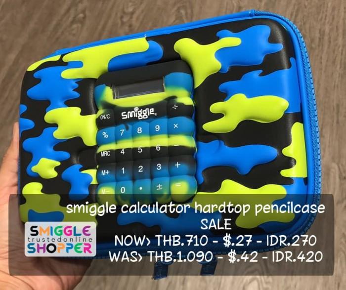 Smiggle ori calculator hardtop pencilcase