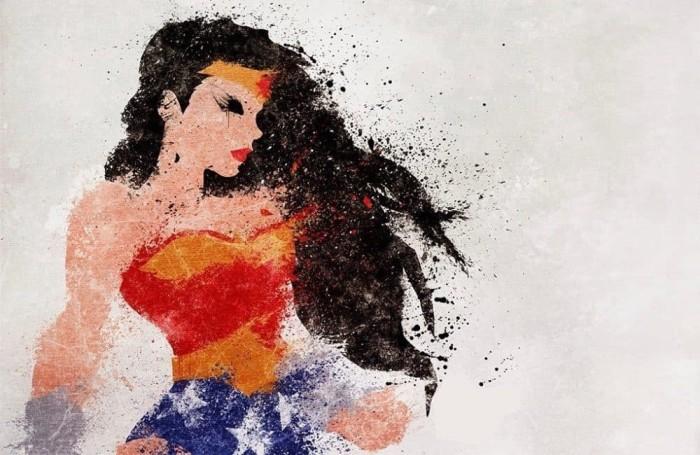 harga Superhero digital art [wonderwoman-spl] size 30x30cm Tokopedia.com