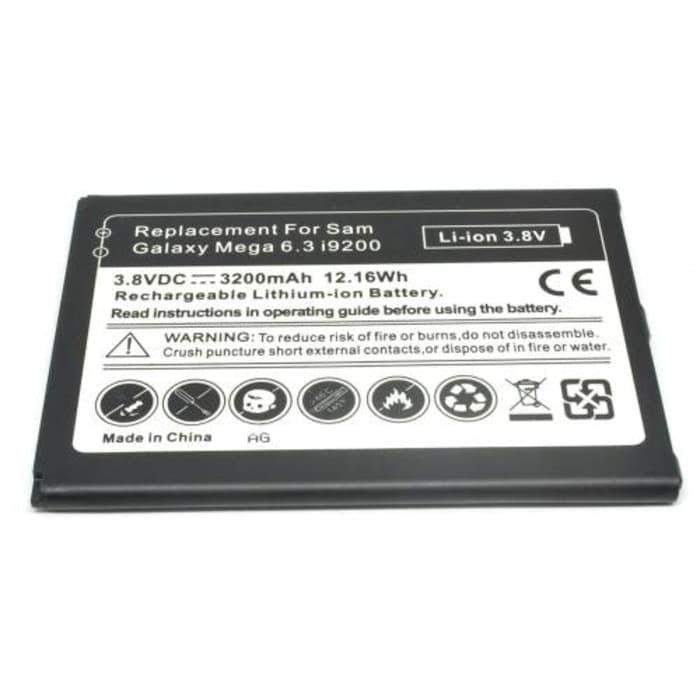 Battery Baterai Samsung Galaxy Mega GT I9200 GARANSI 3 BULAN