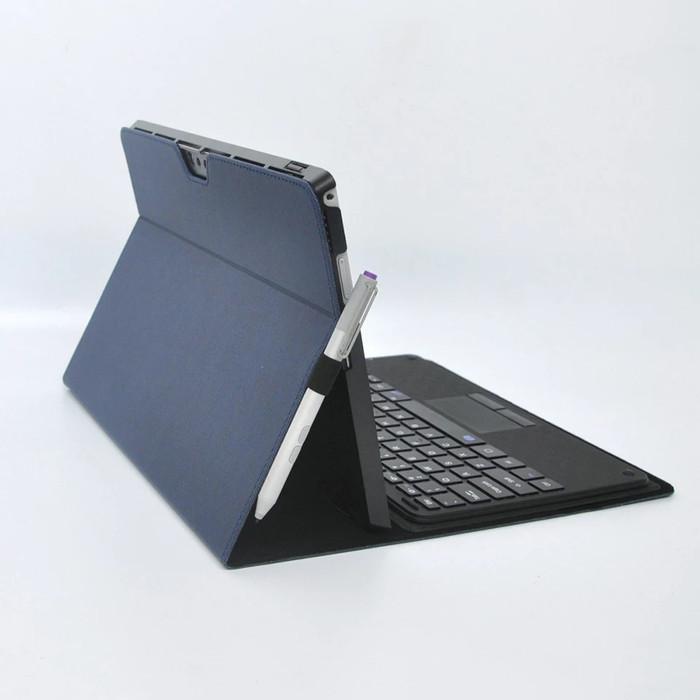 harga Microsoft surface pro 3 leather flip cover kulit case wallet casing Tokopedia.com