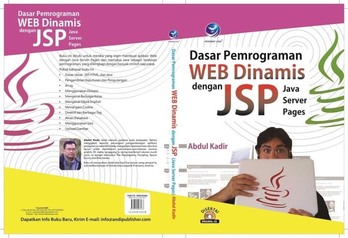 Jual Dasar Pemrograman Web Dinamis Dengan JSP (Java Server Pages) - Kota  Tangerang - Penerbit Andi Jakarta | Tokopedia