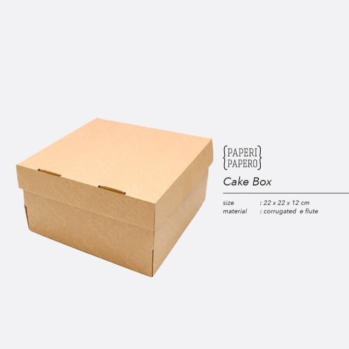 Foto Produk Cake Box - Kotak / Dus / Boks Kue Bolu dari {Paperi Papero}