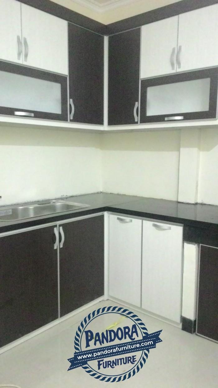 Kitchen set lemari dapur minimalis lapis hpl