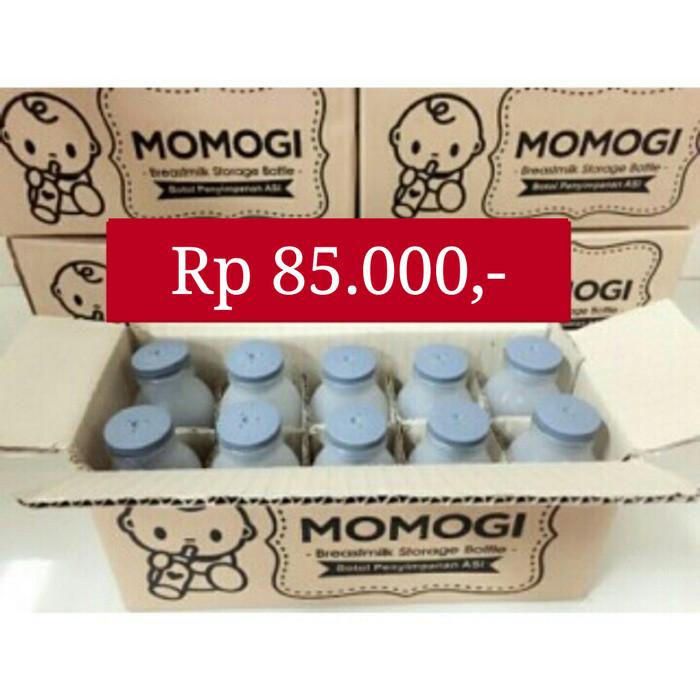 harga Botol kaca penyimpanan susu asi asip bayi momogi momo isi 10 pcs baru Tokopedia.com