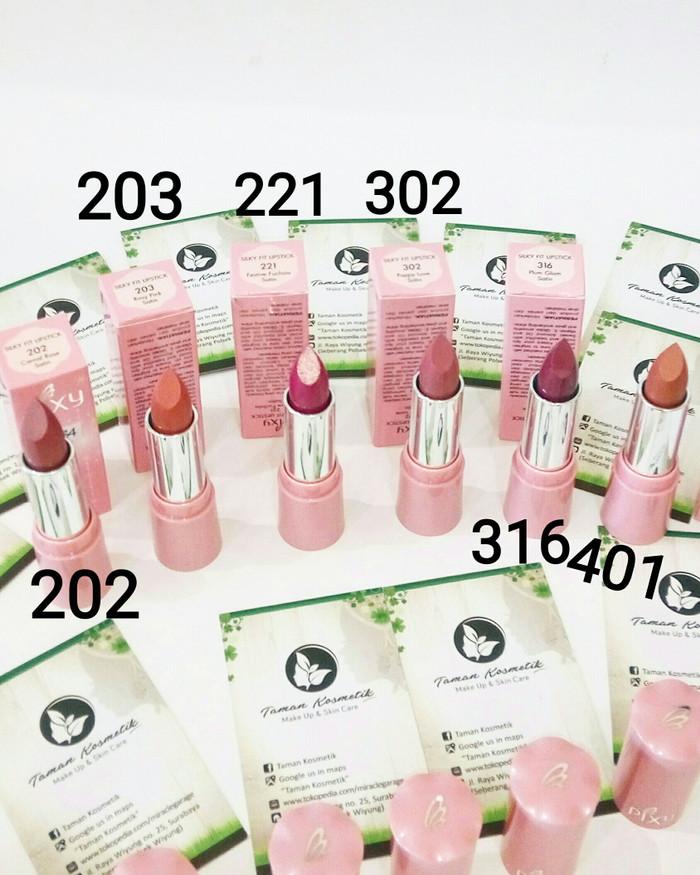 Pixy Silky Fit Lipstick Lipstik Silkyfit with Moisturizer Vitamin E