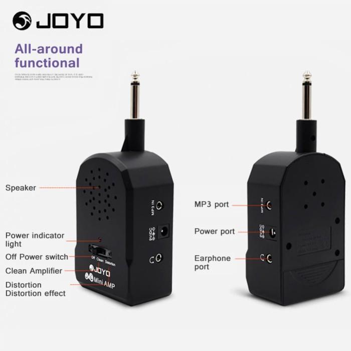 harga Joyo ja-01 gitar amplifier speaker mini portabel  gitar bass distorsi Tokopedia.com