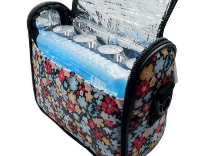 Cooler bag coolerbag momza summer free ice pack dan 4 botol asi