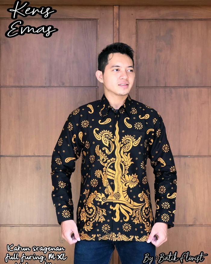 harga Keris kemeja // hem batik solo by florist Tokopedia.com