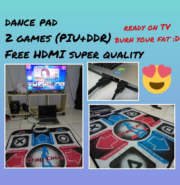 harga Dance pad carpet karpet ddr untuk tv paket lengkap game hdmi Tokopedia.com