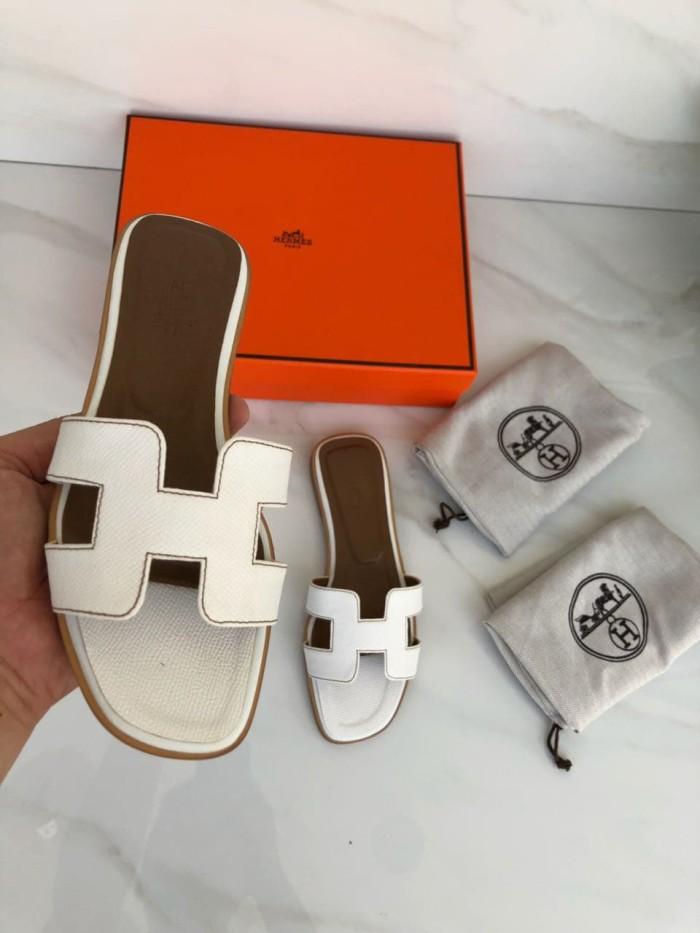 Jual Sandal Hermes Oran Epsom Mirror Quality Size   35-40 White ... 6994866a8b