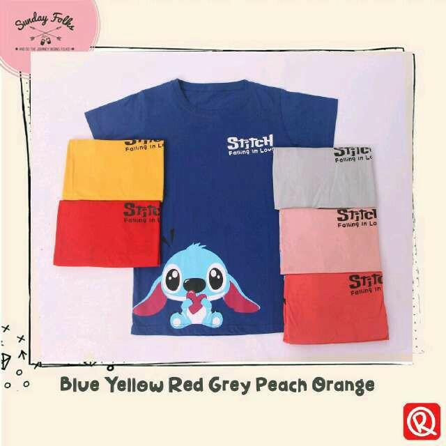 harga Kaos tumblr blue stitch tee kaus wanita oreenjy tshirt Tokopedia.com