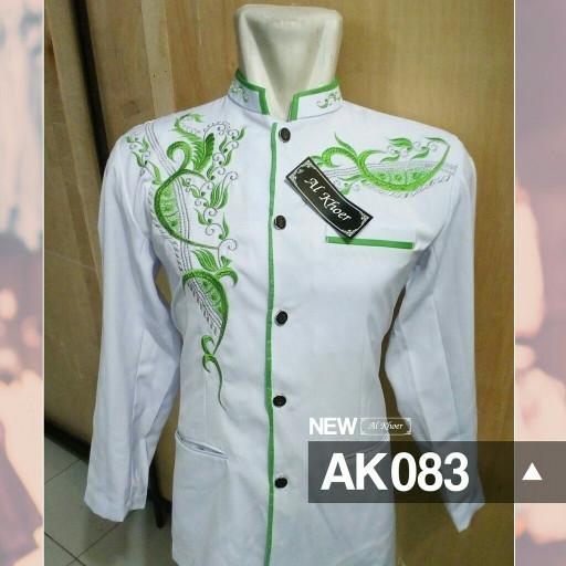 Jual Baju Koko Jas Koko Jasko Bordir Modern Model Terbaru Ak083