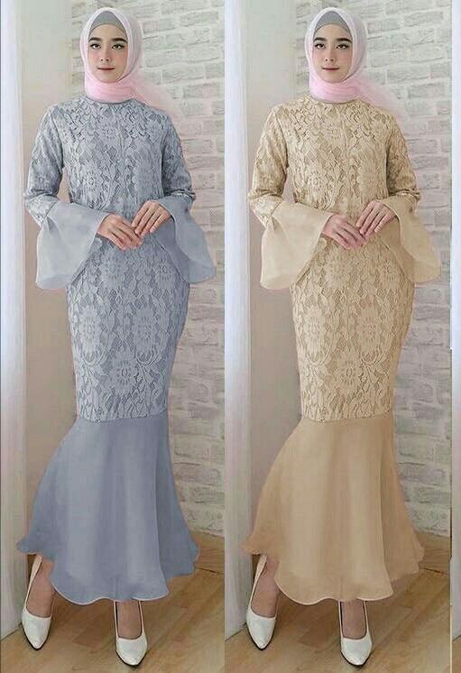Jual Model Baju Muslim Gamis Terbaru Dan Modern Duyung Dress