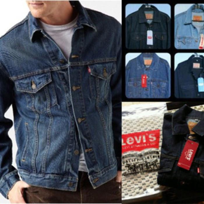 Atasan pria outerwear hoodie jacket jaket jeans levis jumbo bigsize