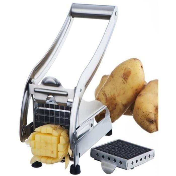 harga Cyprus potato chipper pemotong stick kentang goreng model kfc ad1250 k Tokopedia.com