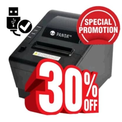 Foto Produk RECEIPT POS MINI PRINTER KASIR THERMAL 80AT AUTO CUTTER 80 mm dari solusiprogramcom