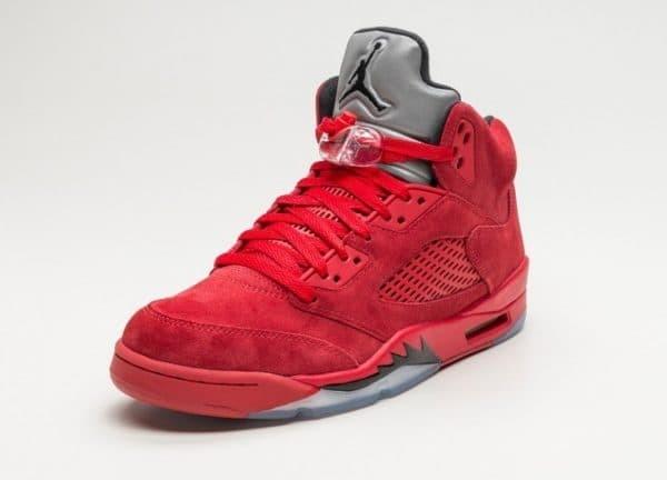 13494947bcb Jual Nike Jordan 5 Retro Red Suede - Kota Administrasi Jakarta Barat ...