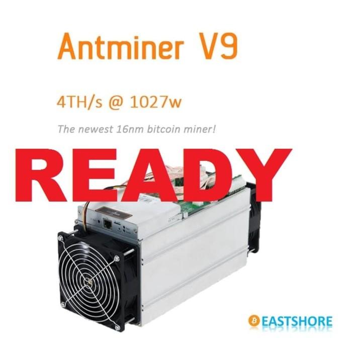 harga Antminer v9 bitcoin litecoin miner antminer v9 + psu Tokopedia.com