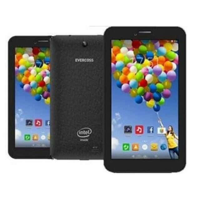 Tablet evercoss winner tab s3 tab android bbm at7f 2kam 2sim ram1gb