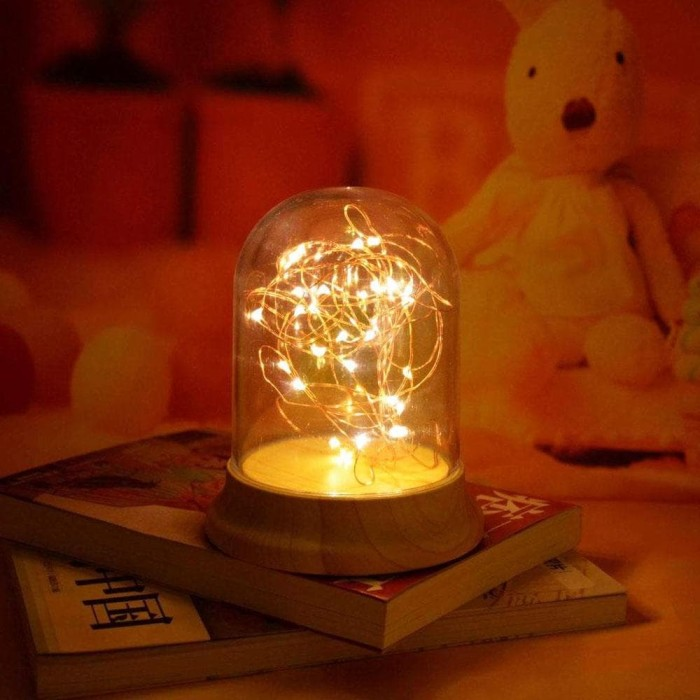the best attitude 6434f 1eeee Jual Fairy Light / String Light LED Copper Wire Lamp - DKI Jakarta -  sugumart | Tokopedia