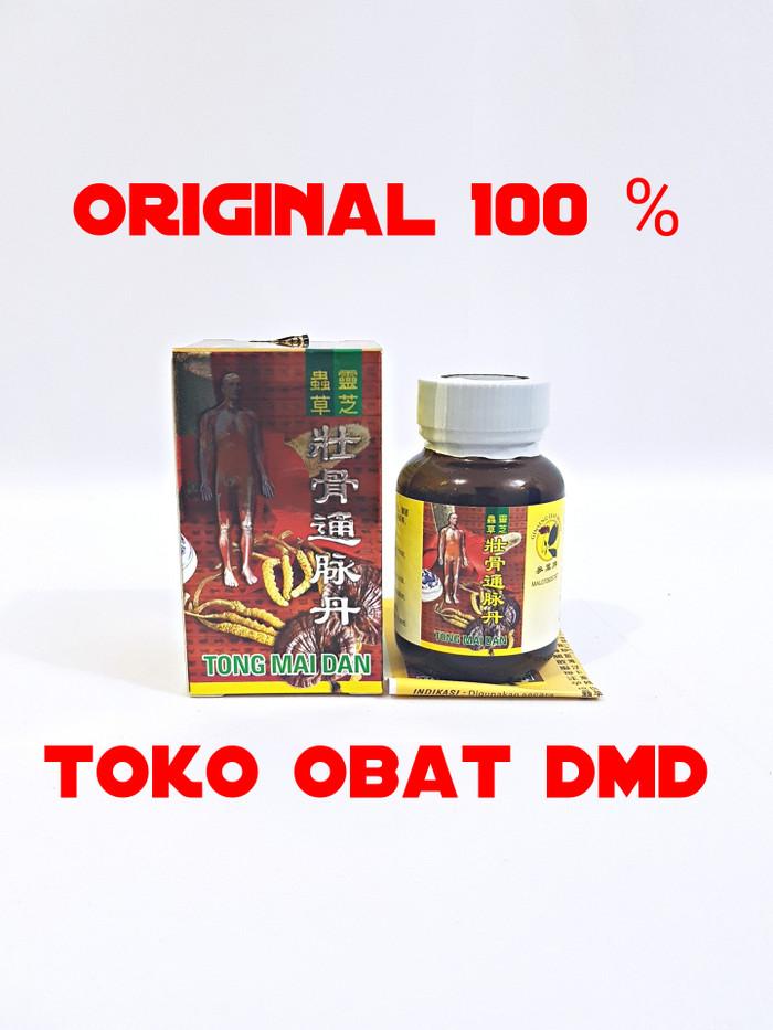 Tong mai dan original hologram (obat asam urat, nyeri sendi)