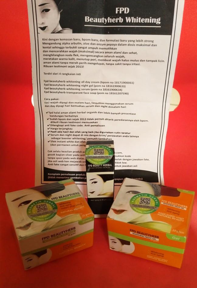 Paket FPD Cream ( VEGE Cream/ FDP ...