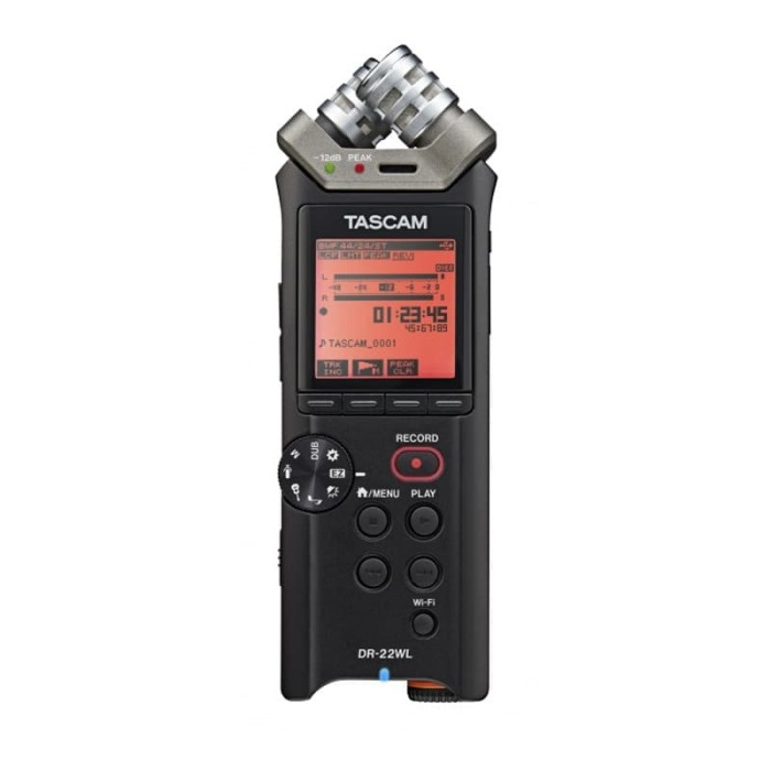 harga Tascam dr-22 wl portable handheld recorder with wifi Tokopedia.com