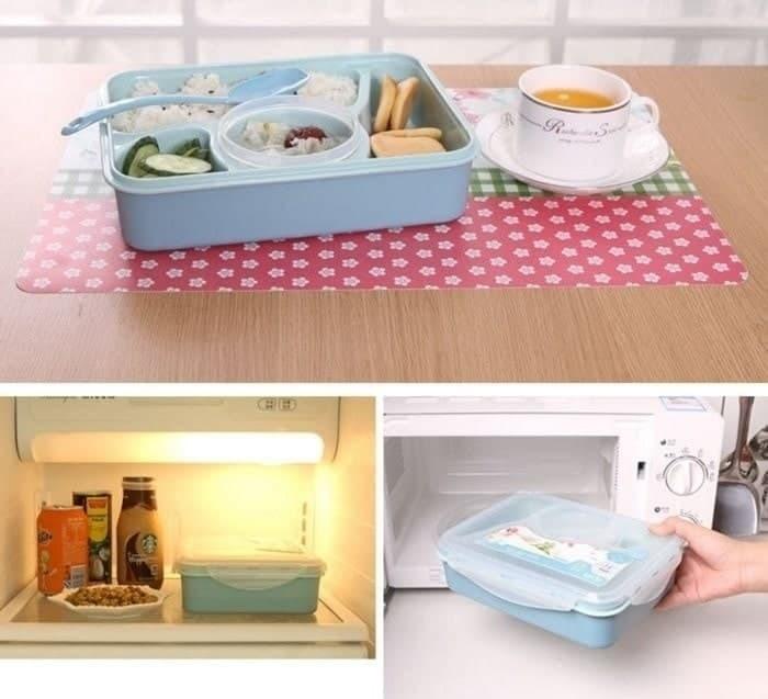 Lunch box yooyee kotak makan sup 4 sekat bento #392