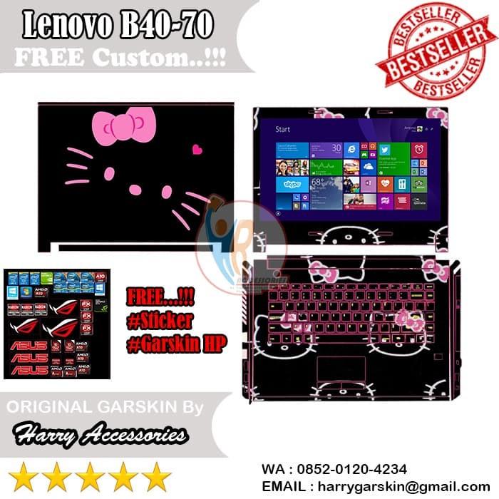 bd47d1c44 Jual Original Garskin Laptop Full Body Lenovo B40-70 Motif Hello ...