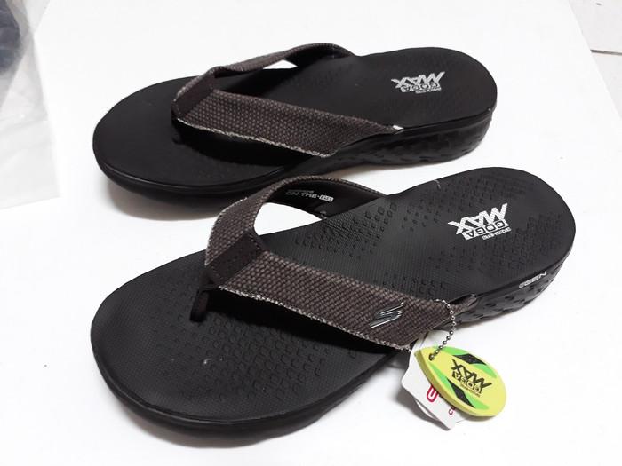 harga Sandal jepit skechers vivacity men / pria 3 color original (garansi te Tokopedia.com