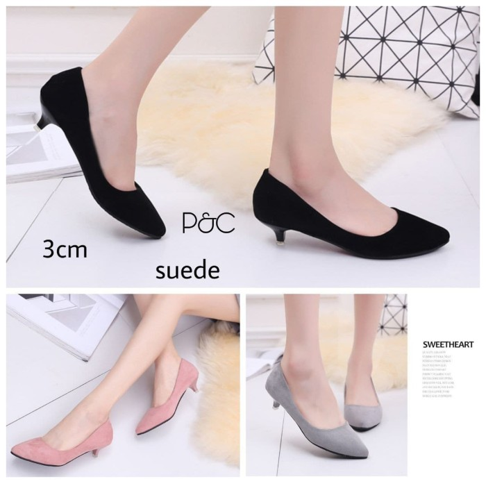 Jual Flat Shoes / High Heels / Sepatu