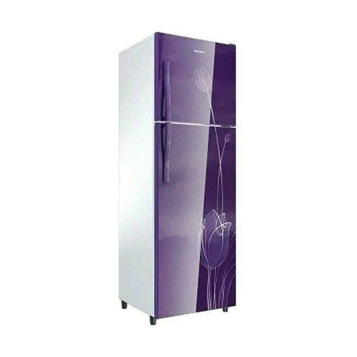 harga Polytron kulkas 2 pintu prm-21stv belleza 2 violet bekasi low watt Tokopedia.com