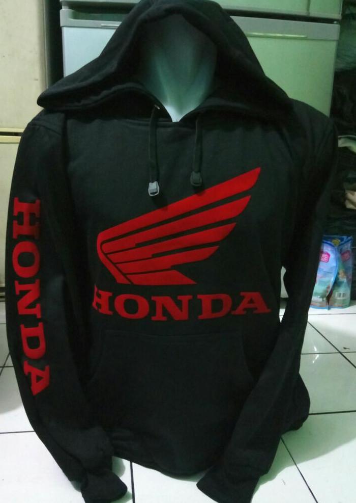 harga Distro jaket hoodie pria motor honda Tokopedia.com