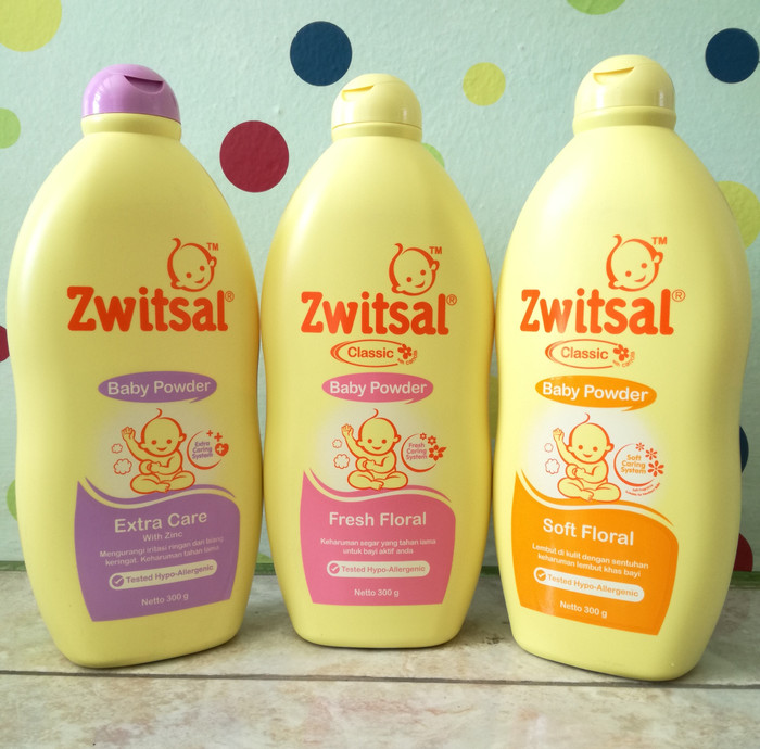 Zwitsal Baby Powder Classic Soft Floral - 300gr Twin Pack | Shopee Indonesia. Source ·