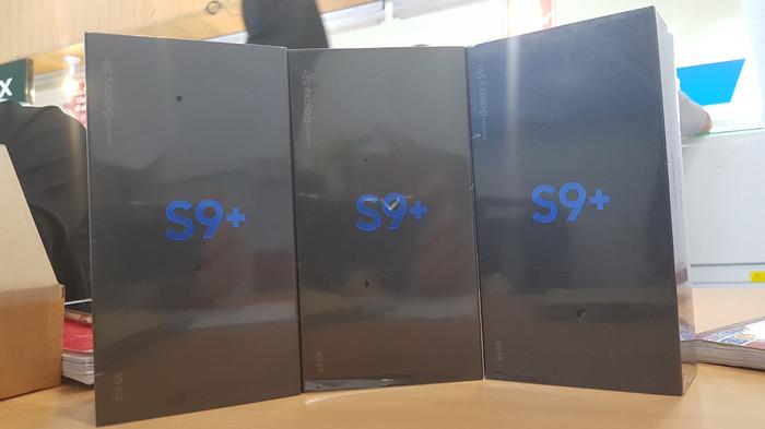 harga Samsung galaxy s9+ plus 6/64 garansi resmi sein Tokopedia.com