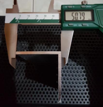 Foto Produk Siku Aluminium 50 x 50 mm, t. 3 mm dari Vlinder