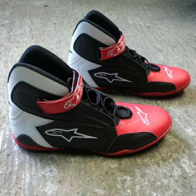 harga Sepatu drag alpinestar merah hitam k2 - sepatu balap - sepatu touring Tokopedia.com