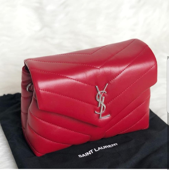 a86ea6a6884 Jual YSL toy loulou sling bag - Kota Medan - Mocha Bag | Tokopedia