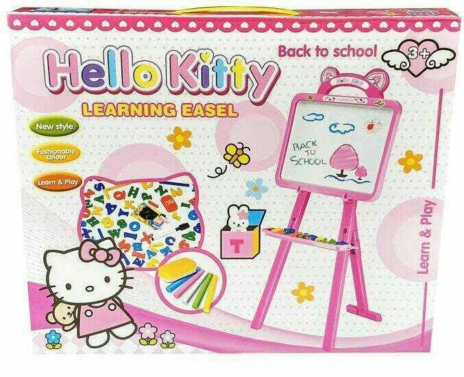 ... harga Papan tulis magnet anak hello kitty learning easel no.8005d murah  Tokopedia.com ca327fcd19