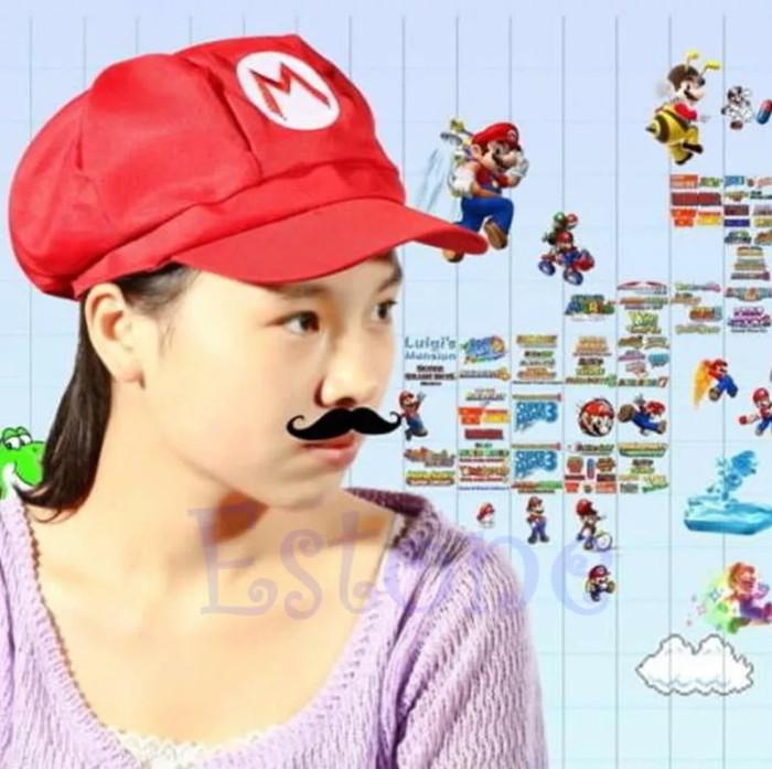 harga Topi super mario bros cap hat Tokopedia.com