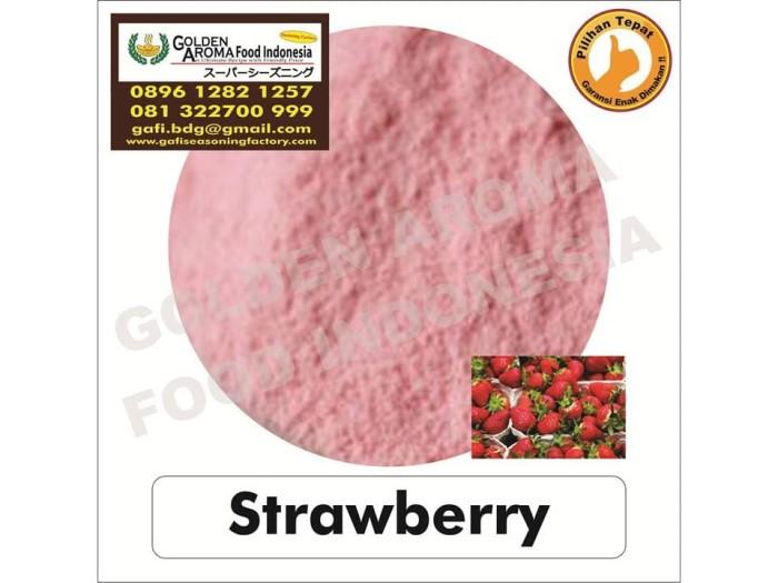 Bumbu tabur rasa strawberry. 0896-1282-1257 strawberry seasoning gafi