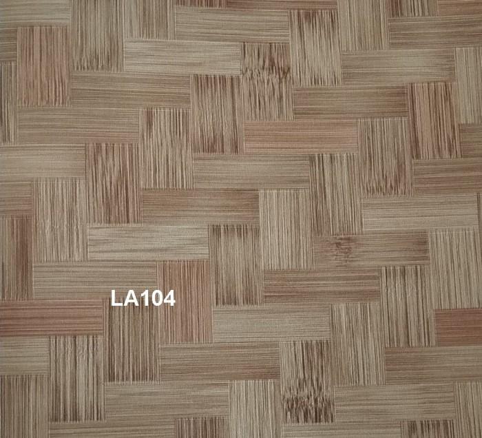 dinding motif anyaman bambu