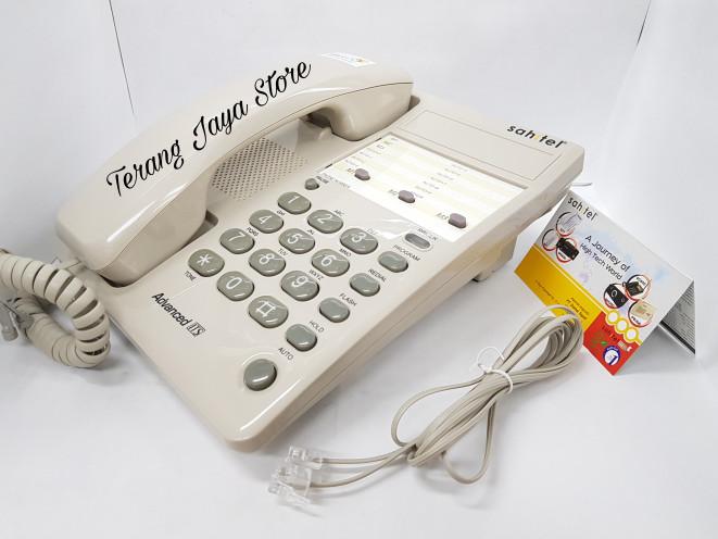 harga Cable phone sahitel s-71 telepon kabel rumah Tokopedia.com