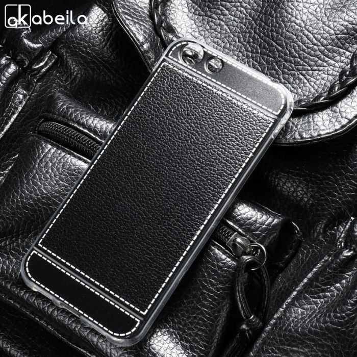 harga Akabeila phone cover cases  elephone s7 5.5 inch covers soft tpu litch Tokopedia.com