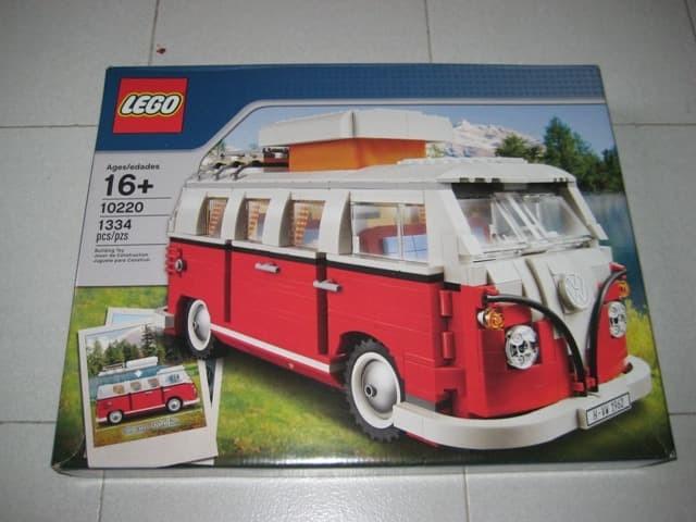 Jual Lego Creator Vw Camper Van 10220 Bnib Dan Segel Mbok Marni