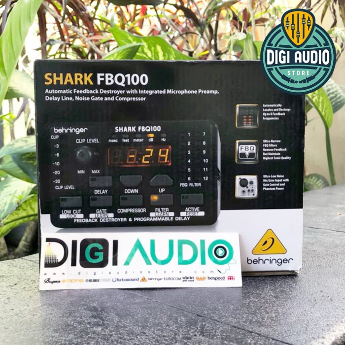harga Behringer shark fbq100 [ fbq 100 ] automatic feedback destroyer Tokopedia.com