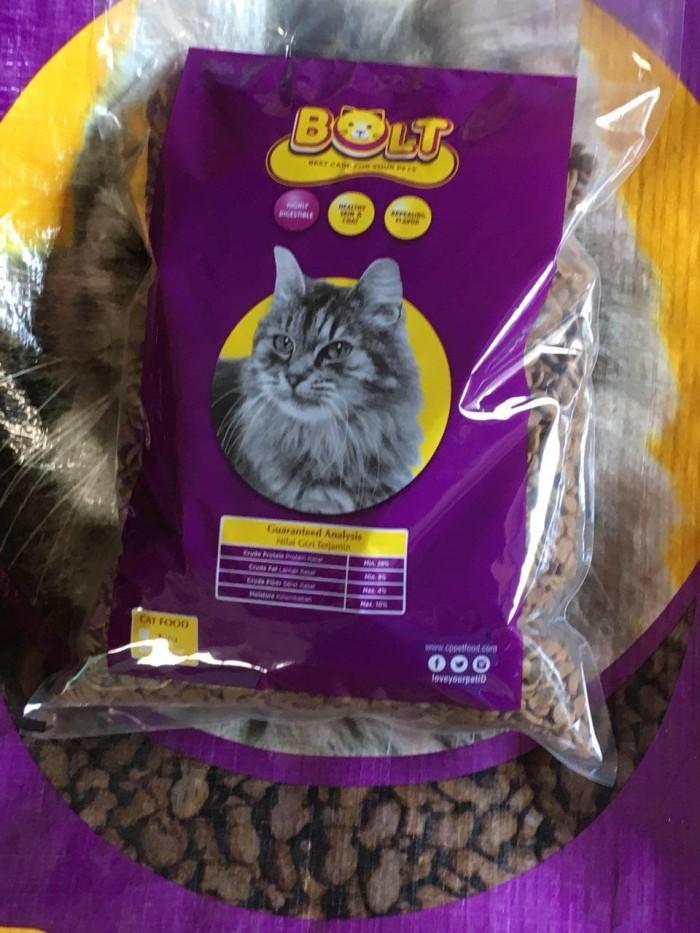 Jual Bolt 1kg Tuna Ikan Makanan Kucing Murah Repack Cat Food